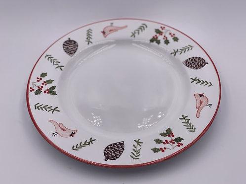 'Cardinal' Dinner Plate (Individual)