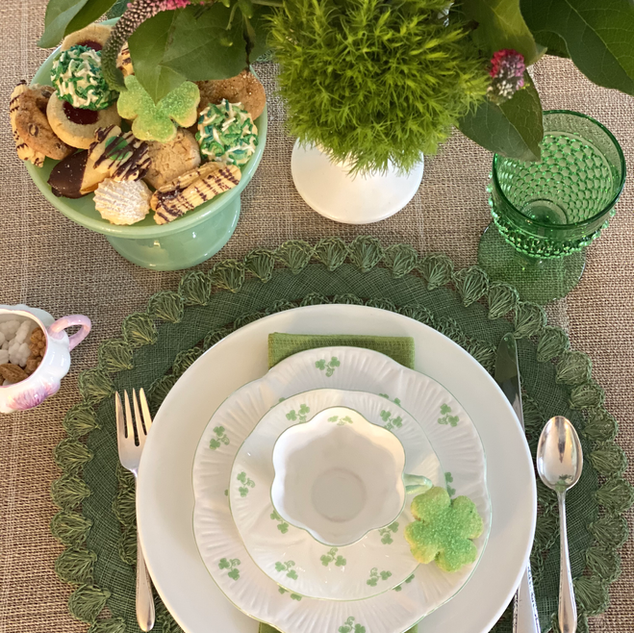 A Shamrock Tea Party