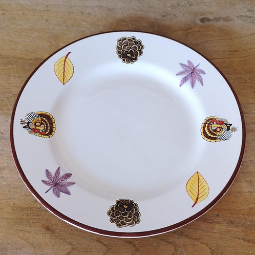 'Turkey' Dinner Plate (Individual)