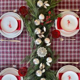 A Classic Christmas Setting