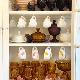 Jewel Toned Glassware