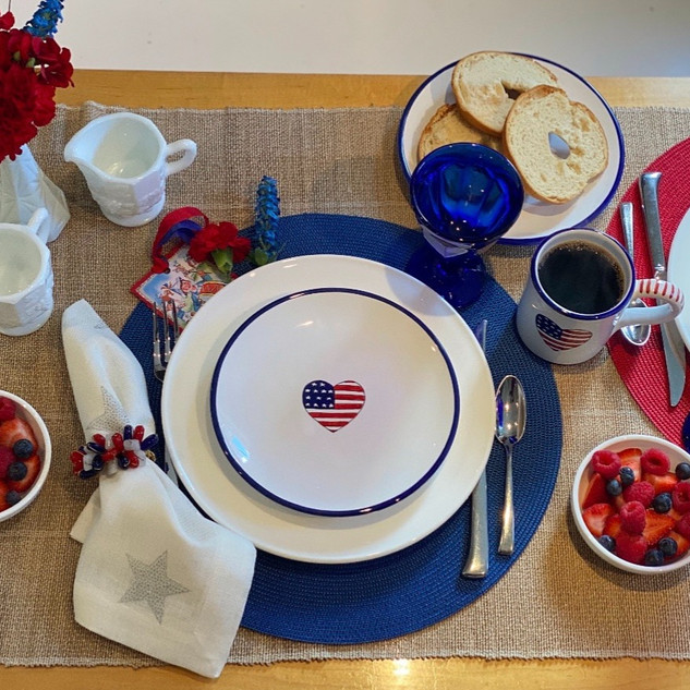A Patriotic Breakfast