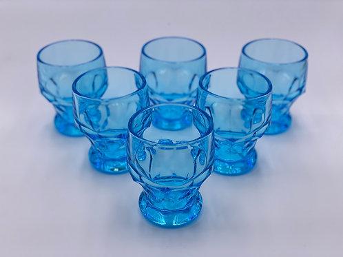 Mosser Glass 'Georgian' Tumbler in 'Spring Blue'