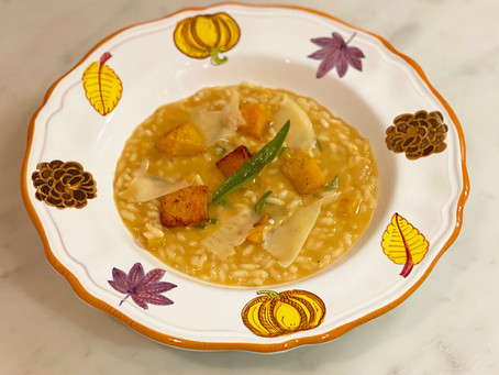 Autumnal Delights & Butternut Squash Risotto