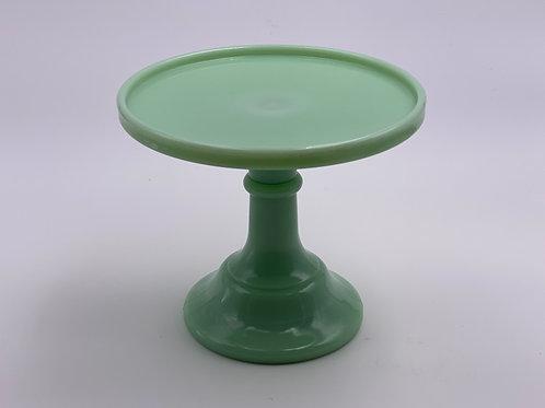 "Mosser Glass 6"" Cake Stand in 'Jadeite'"