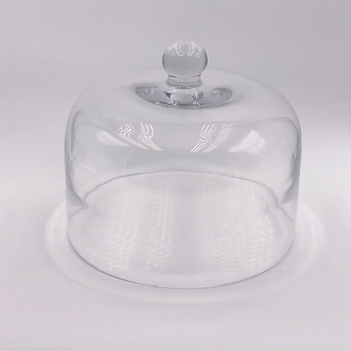 """Mosser Glass 10"""" Crystal Dome"""