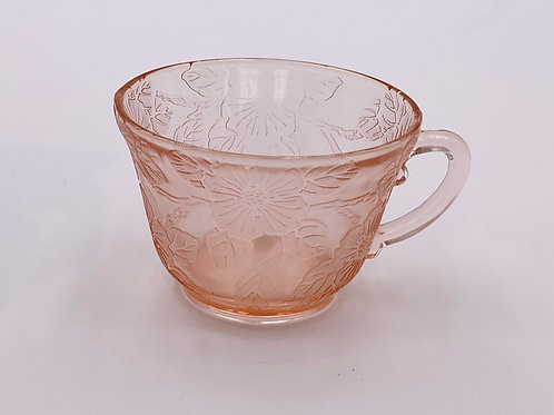 Vintage 'Cherry Blossom' Teacup in 'Pink' (Individual)