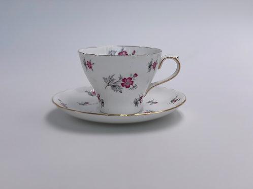 Vintage Shelley 'Charm' Teacup & Saucer