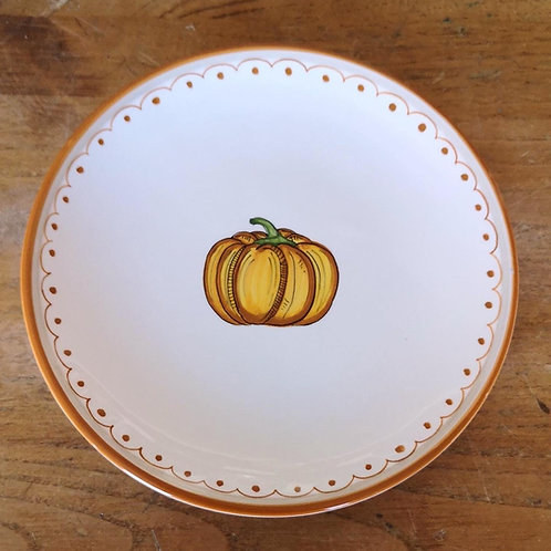 'Pumpkin' Dessert Plate (Individual)