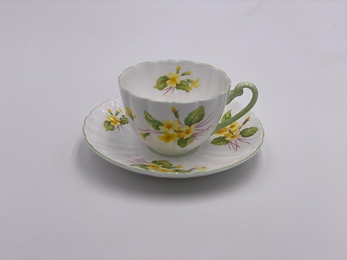 Vintage Shelley 'Primrose' Teacup & Saucer