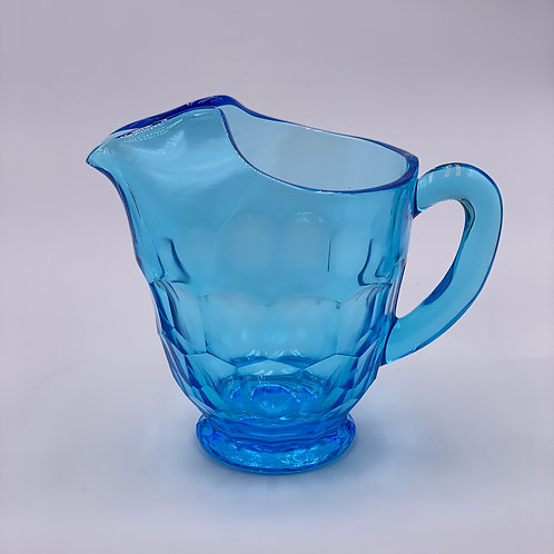 Mosser Glass 'Georgian' Pitcher in 'Spring Blue'