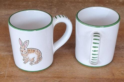 Boxed Set of (4) 'Bunny' Mugs