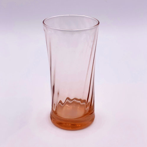Vintage 'Depression Glass' Vase in 'Pink'