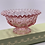 Thumbnail: Vintage 'Moon & Stars' Footed Bowl in 'Pink'