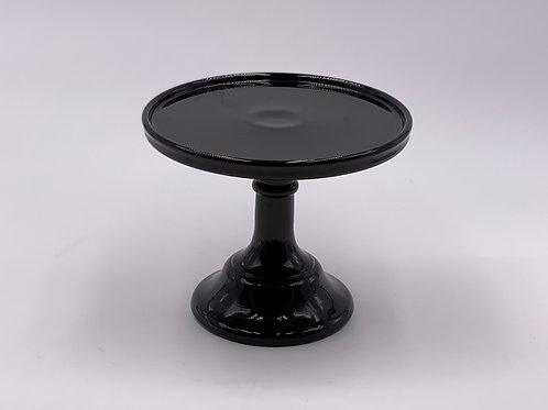 "Mosser Glass 6"" Cake Stand in 'Black Raspberry'"