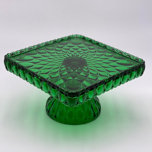 Mosser Glass 'Elizabeth' Cake Stand in 'Green'