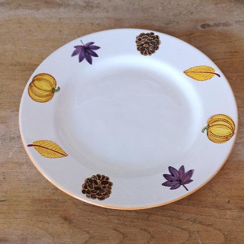 'Pumpkin' Dinner Plate (Individual)