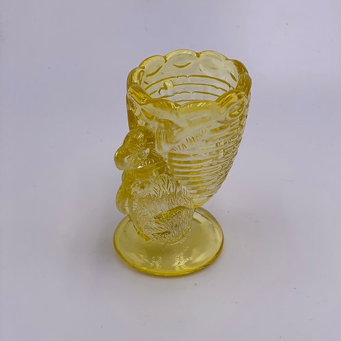 Vintage 'Bunny' Egg Cup in 'Yellow'