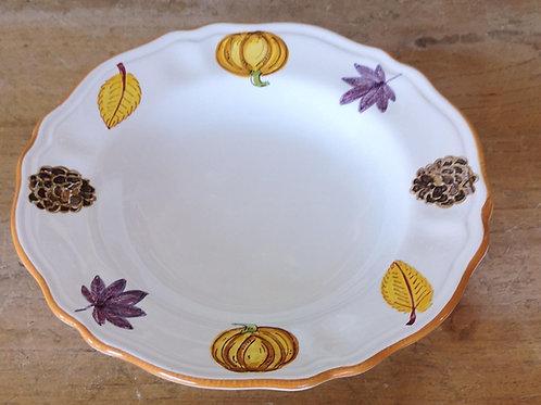 'Pumpkin' Scalloped Bowl (Individual)