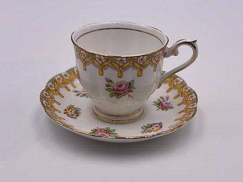 Vintage Royal Albert 'Torquay' Teacup & Saucer