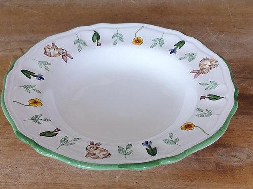 'Bunny' Scalloped Bowl (Individual)