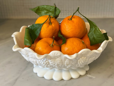 Mandarins bring Good Luck in the New Year