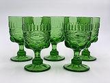 Green Dot & Lace Goblets .jpg