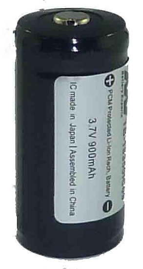 Li-ion 18350 Rechargeable Torch Battery 900 mAh