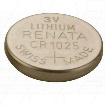 Lithium 3V Coin Cell CR1025(R)