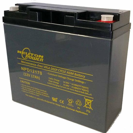 12v 17ah Neuton NPD12170 Battery