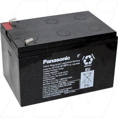 12v 15Ah Panasonic LC-CA1215P1 Battery