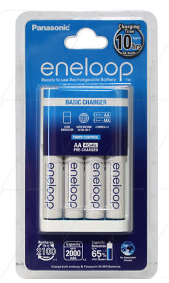 Eneloop Family Charger and Battery Kit