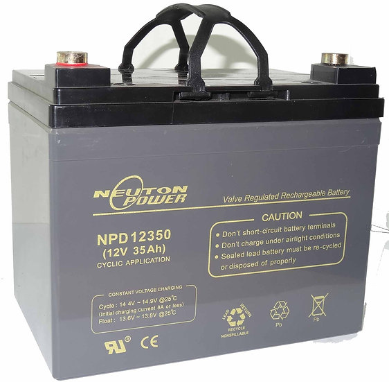 12v 35Ah Neuton NPD12350 Battery