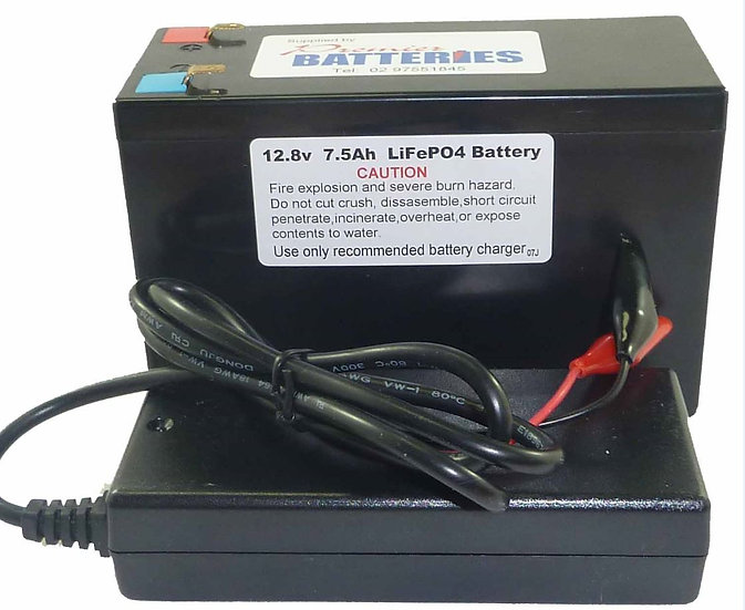 LITHIUM IiON PHOSPHATE BATTERY& CHARGER