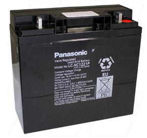 12V 21Ah Panasonic LC-XC1221P  Battery