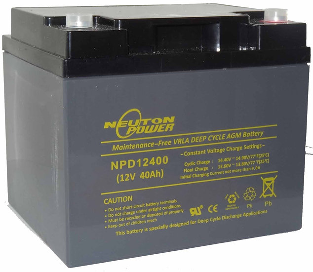 12v 55Ah Neuton NPD12550       Battery