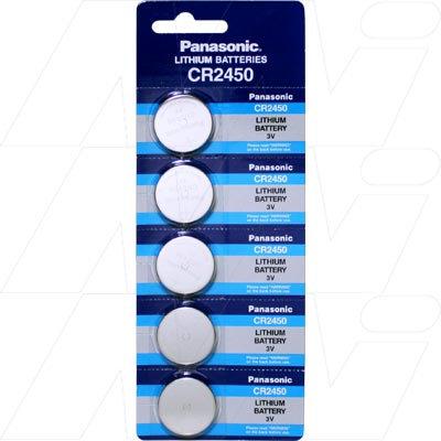 Lithium 3V Coin Cell CR2450-BP5(P)