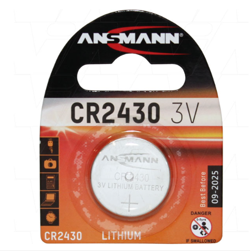 Lithium 3V Coin Cell 5020092 CR2430-BP1