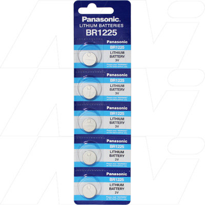 Lithium 3V Coin Cell  BR1225-BP5(P)