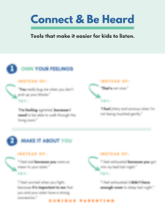 Guide: Connect & Be Heard (6 pages)