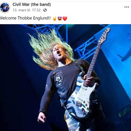 CIVIL WAR nytt medlem