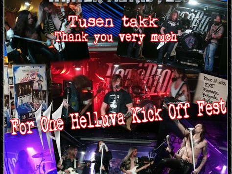 Kick Off Fest gjennomført!