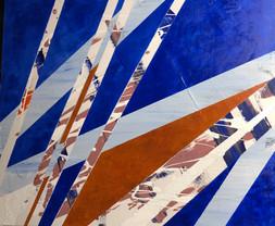 Sailboat, acrylic on canvas, 45x55cm