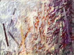 Cálica 14, acrylic on canvas, 50x60cm