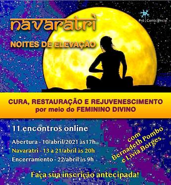 Navaratri - Elevação por meio do Feminino Divino