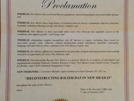 Deconstructing Racism Day in New Mexico