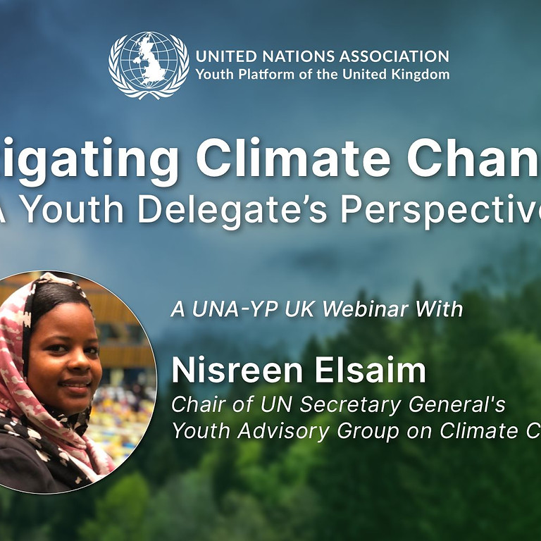 Mitigating Climate Change: A Sudanese Youth Delegate's Perspective