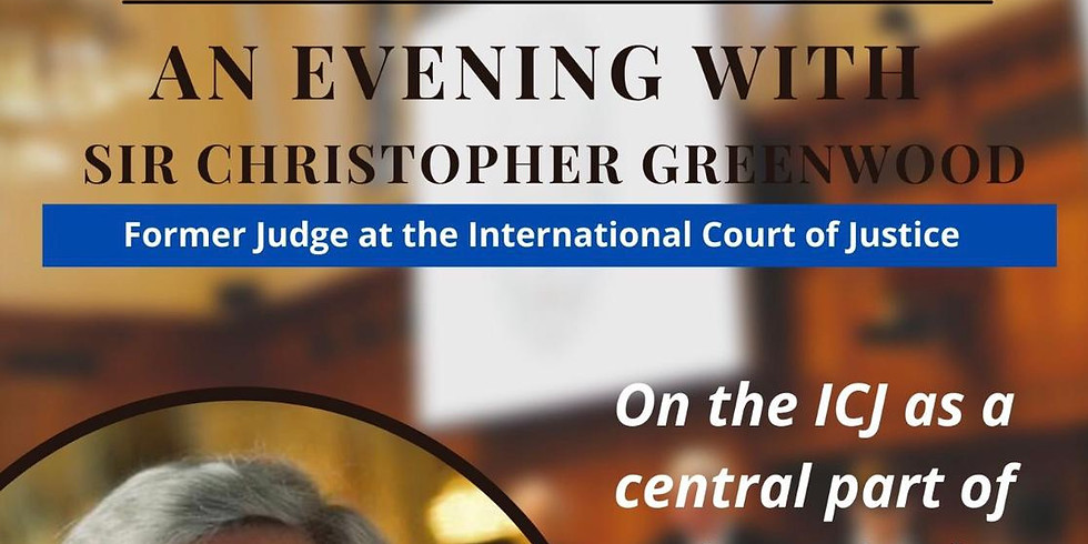 Sir Christopher Greenwood - On the ICJ as a central part of the United Nations