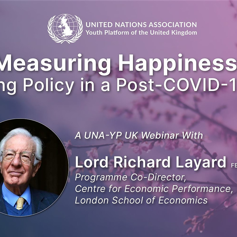 Measuring Happiness: Wellbeing Policy in a Post-COVID-19 World