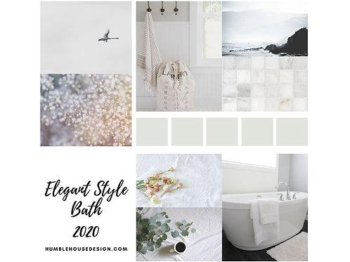 Elegant Style Bath Finish Materials List
